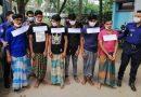 নোয়াখালীতে কিশোর গ্যাংয়ের ৭ সদস্য গ্রেফতার