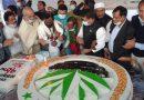 কিশোরগঞ্জে ৭৮ পাউন্ড কেক কেটে রাষ্ট্রপতি মো.আবদুল হামিদের ৭৮তম জন্মদিন উদযাপন
